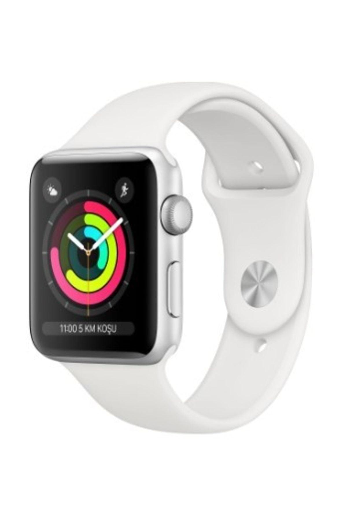 Apple Watch Seri 3 GPS 38 mm Gümüş Rengi