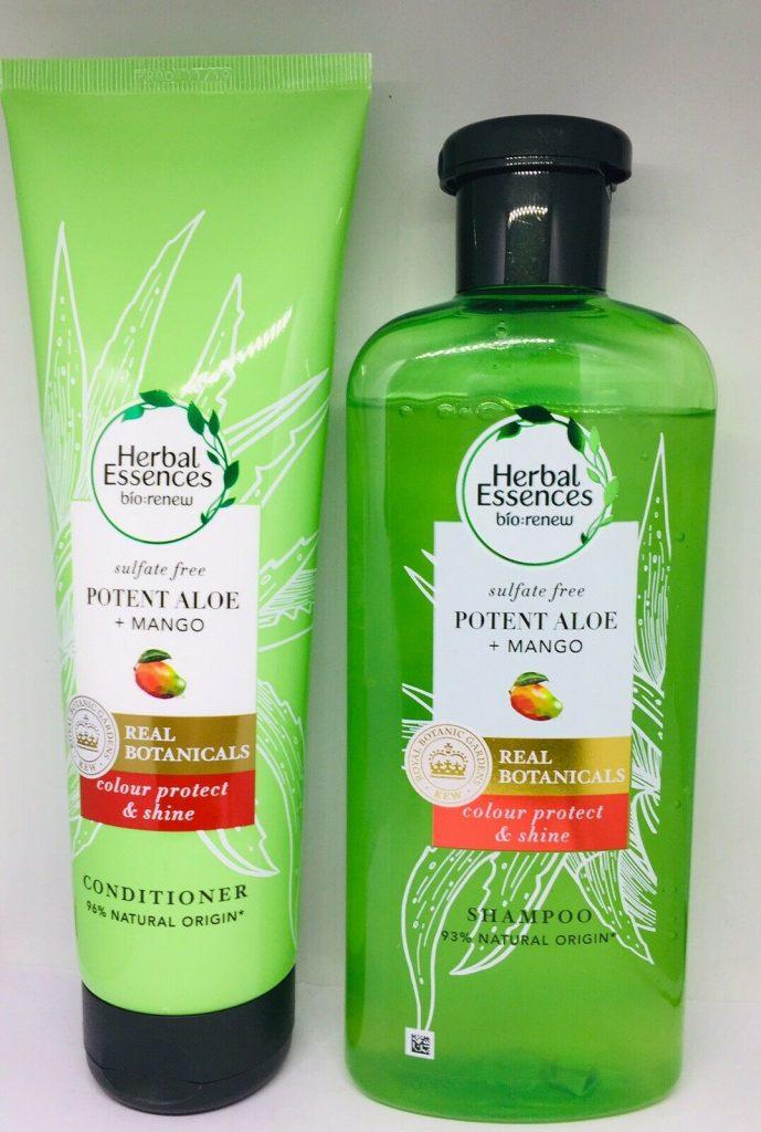 Herbal Essences Aloe Gücü + Mango 380 Ml Sülfatsız Şampuan