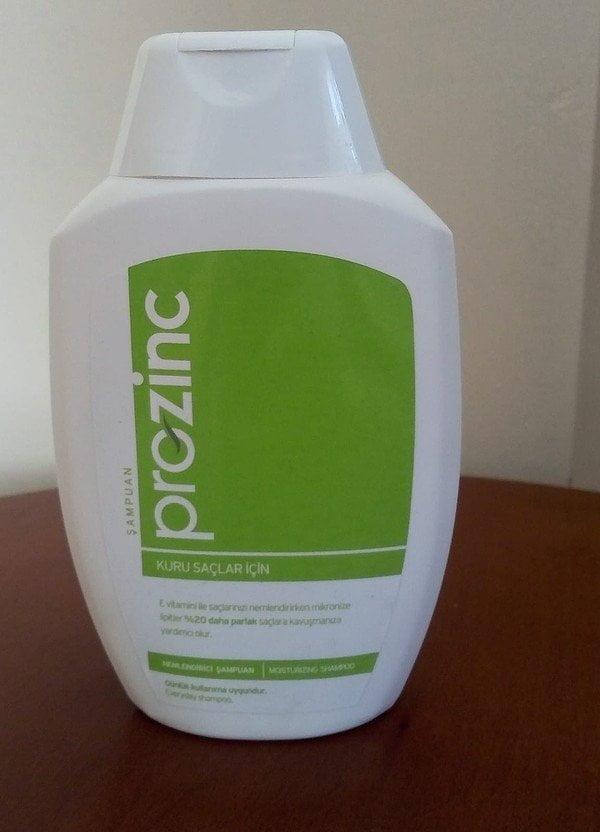 Prozinc Kuru Saçlar için Şampuan