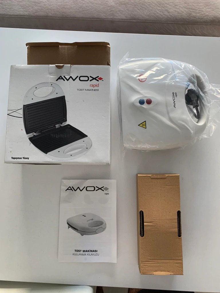 Awox Rapid Mini Tost Makinesi