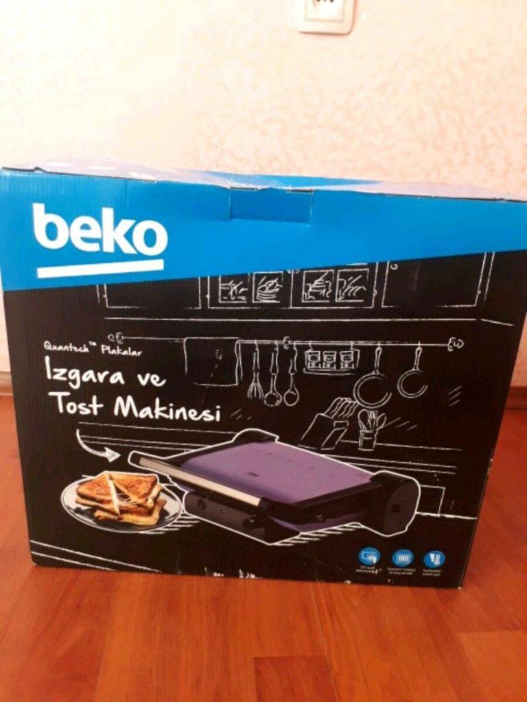 Beko 2296 Tg Izgara ve Tost Makinesi
