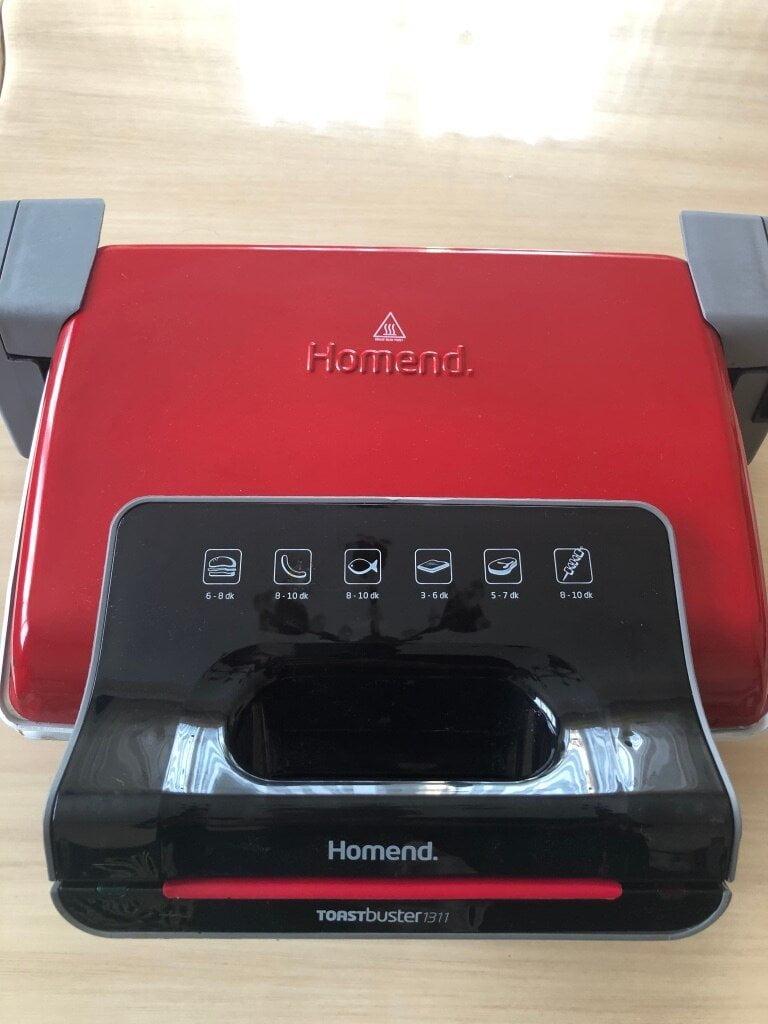 Homend Toastbuster 1311 Seramik Tost Makinesi