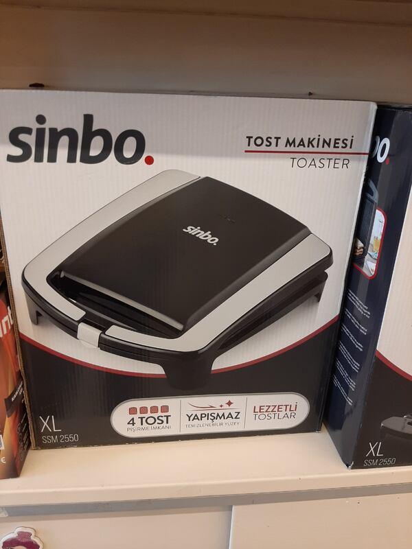 Sinbo Ssm-2550 Tost Makinesi
