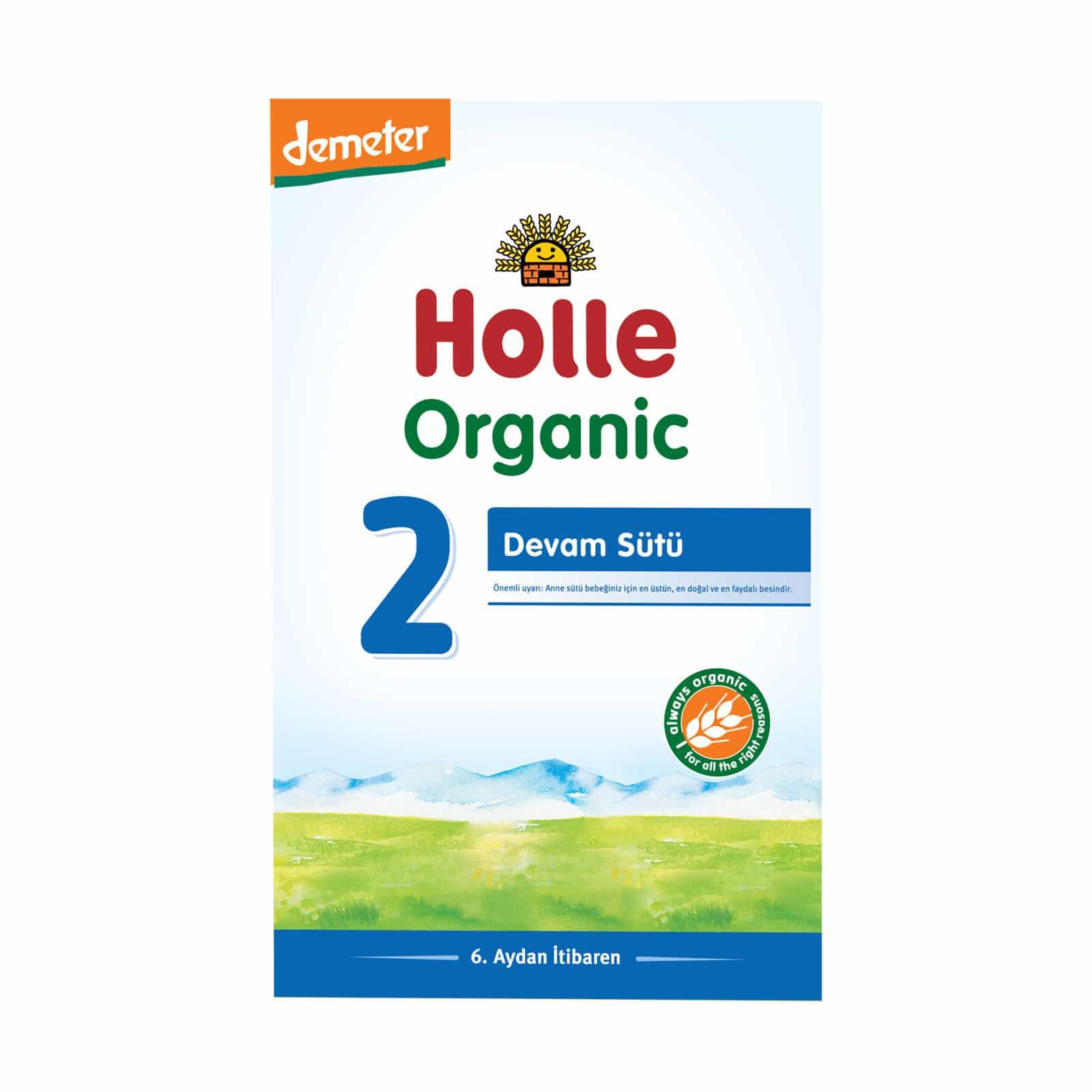 Holle Organik Devam Sütü