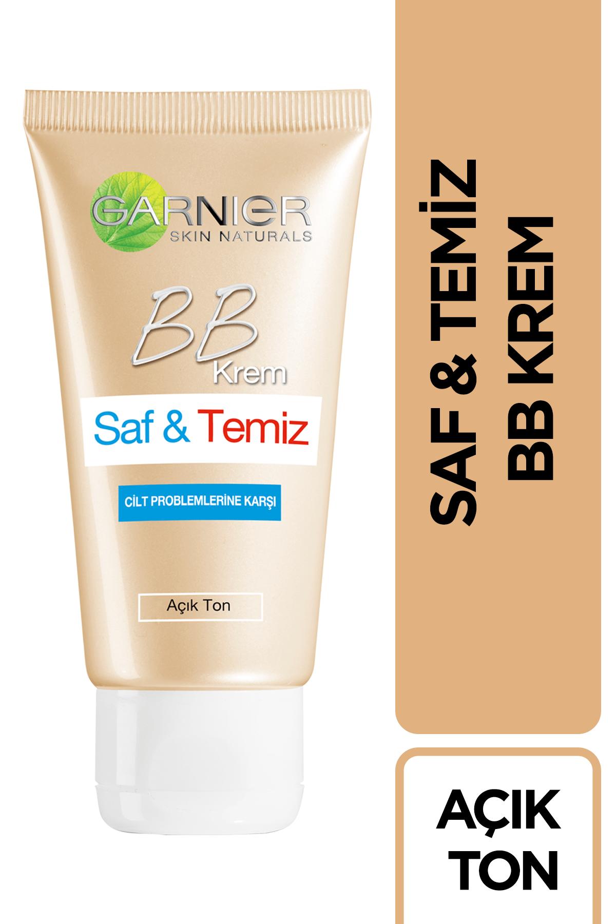 Garnier BB Krem - Saf & Temiz Açık Ton
