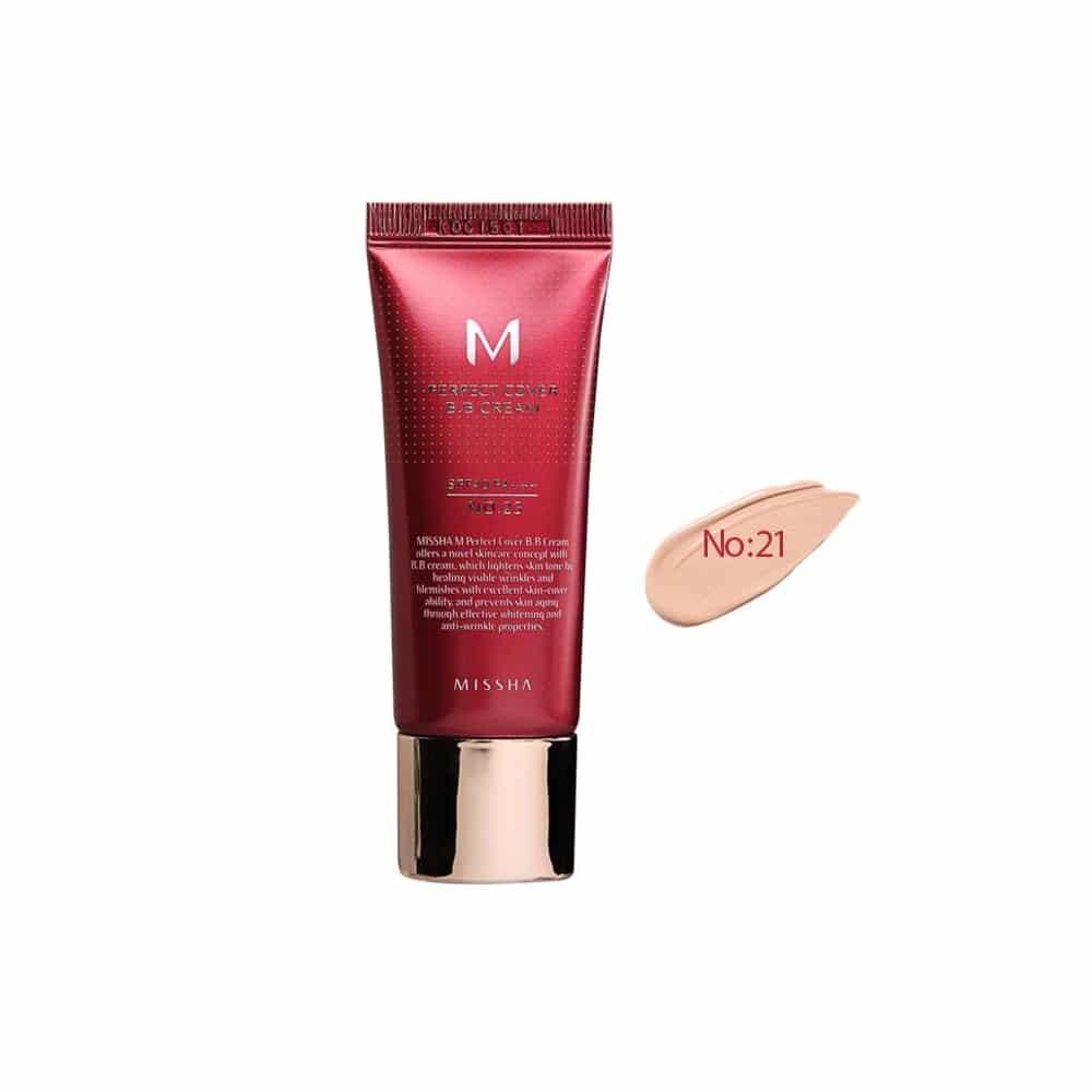 Missha BB Krem M Perfect Cover BB Cream No 21
