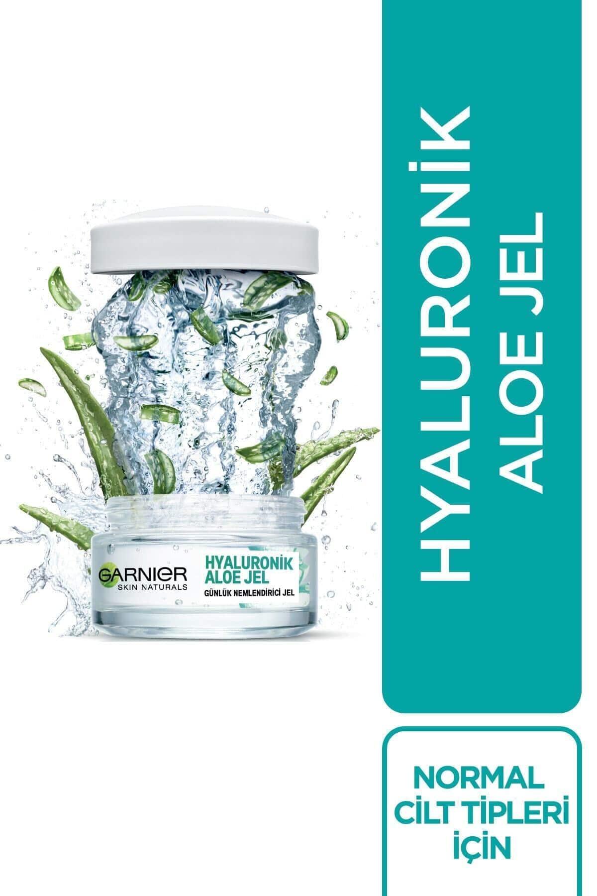 Garnier Hyaluronik Aloe Jel - Günlük Nemlendirici Jel 50 Ml