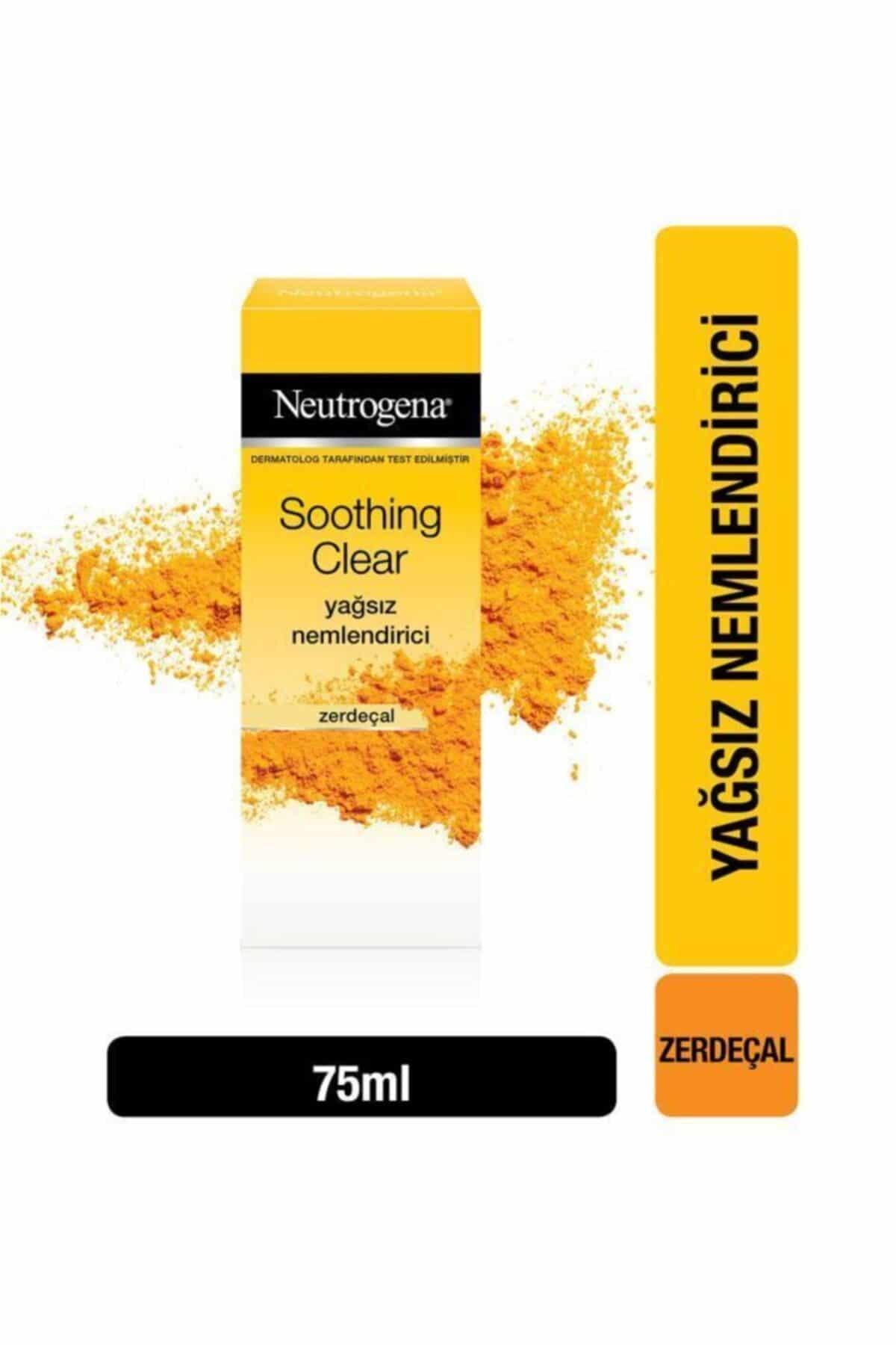 Hassas Cilt İçin En İyi: Neutrogena Soothing Clear Nemlendirici 75 ml