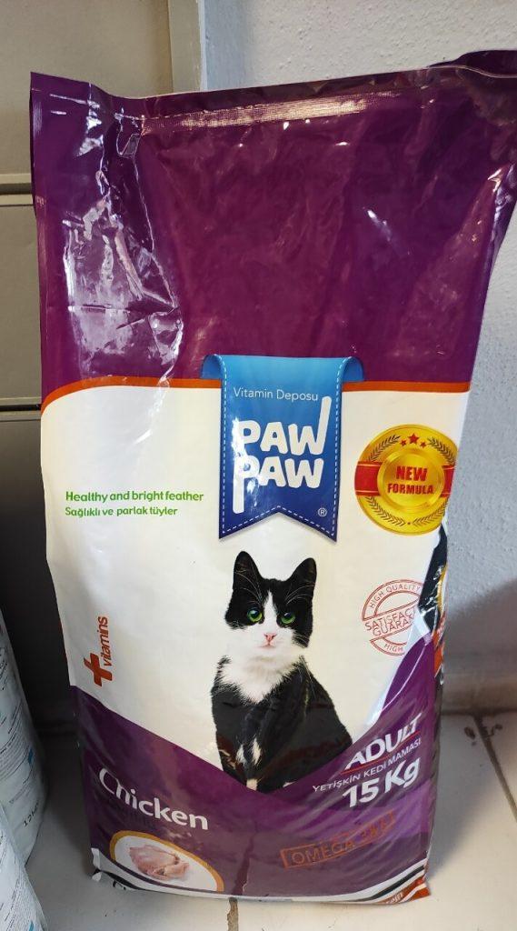 Paw Paw Yetişkin Kedi Maması Tavuklu