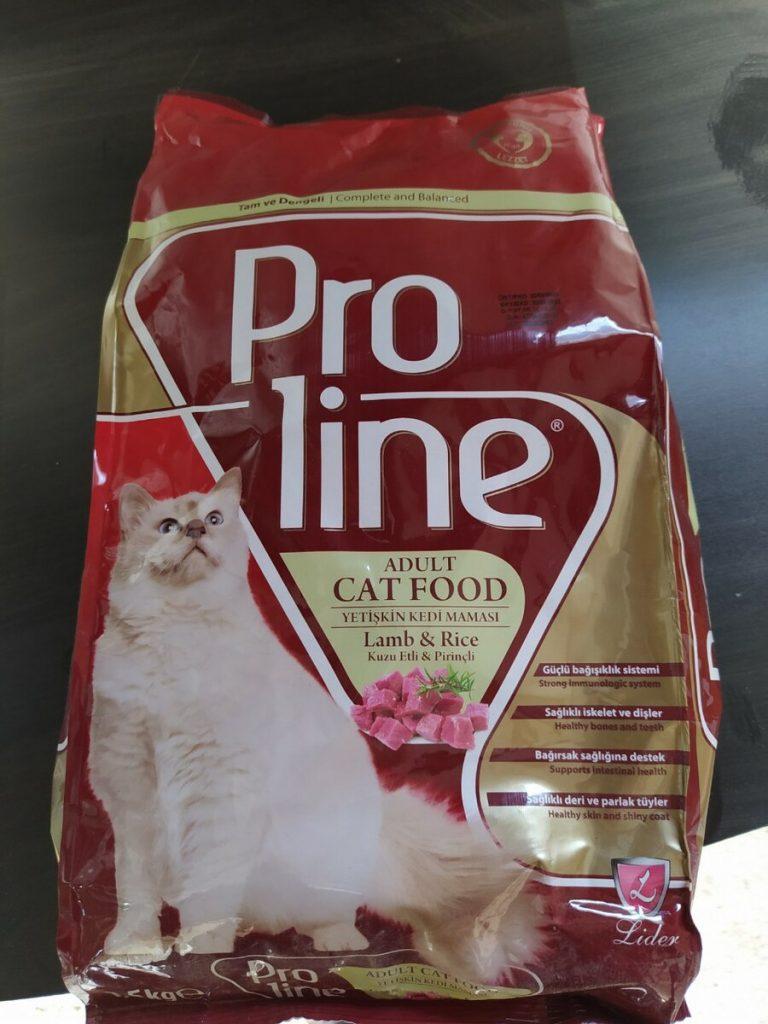 Pro Line Kuzu Etli Ve Pirinçli Yetişkin Kedi Maması