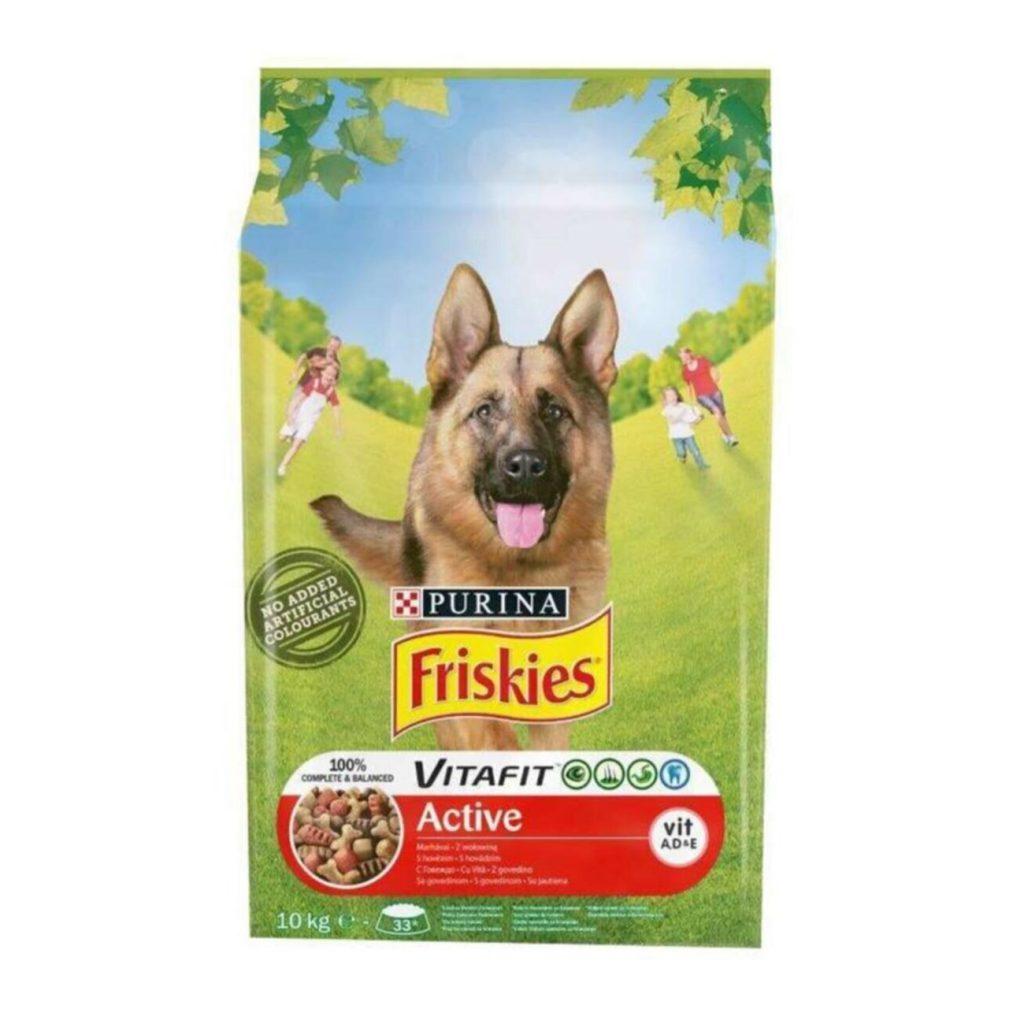 Friskies Active Etli Yüksek Enerji Aktif Köpek Maması